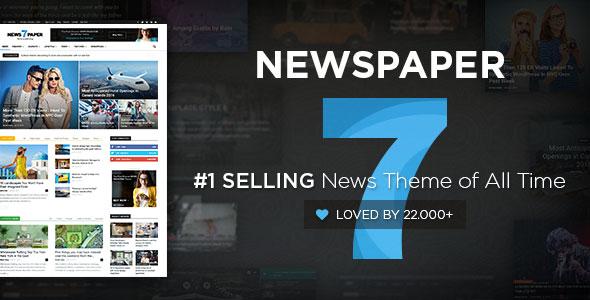 Newspaper v7.2 - Wordpress News Theme Nulled
