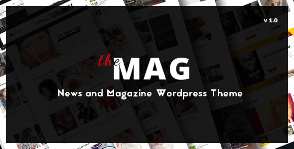 TheMag v1.3.3 - WordPress Magazine Theme Nulled